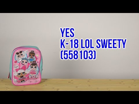Распаковка Yes K-18 LOL Sweety 558103