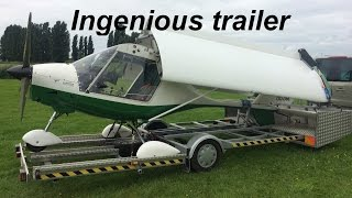 Ingenious trailer for airplanes by Hugo Ingels