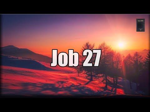 """Job Capítulo 27:  """"Job describe el castigo de los malos"""""""