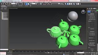 3ds Max для начинающих урок 4 (опорные точки объектов)