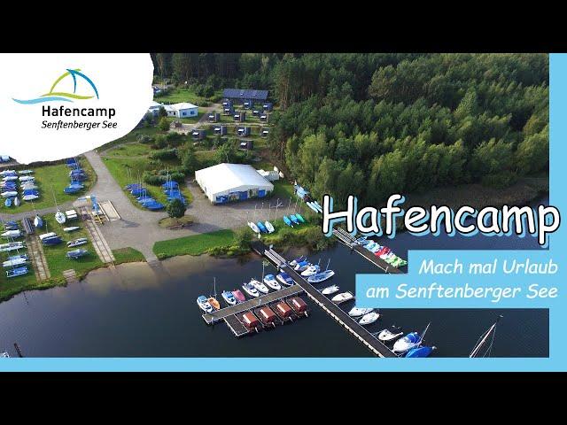 Hafencamp Senftenberger See - Luftaufnahmen HD