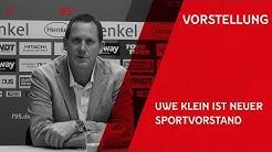 F95-Pressekonferenz | Vorstellung von Uwe Klein als neuen Sportvorstand