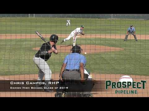 Chris Campos Prospect Video, RHP, Damien High School Class of 2019