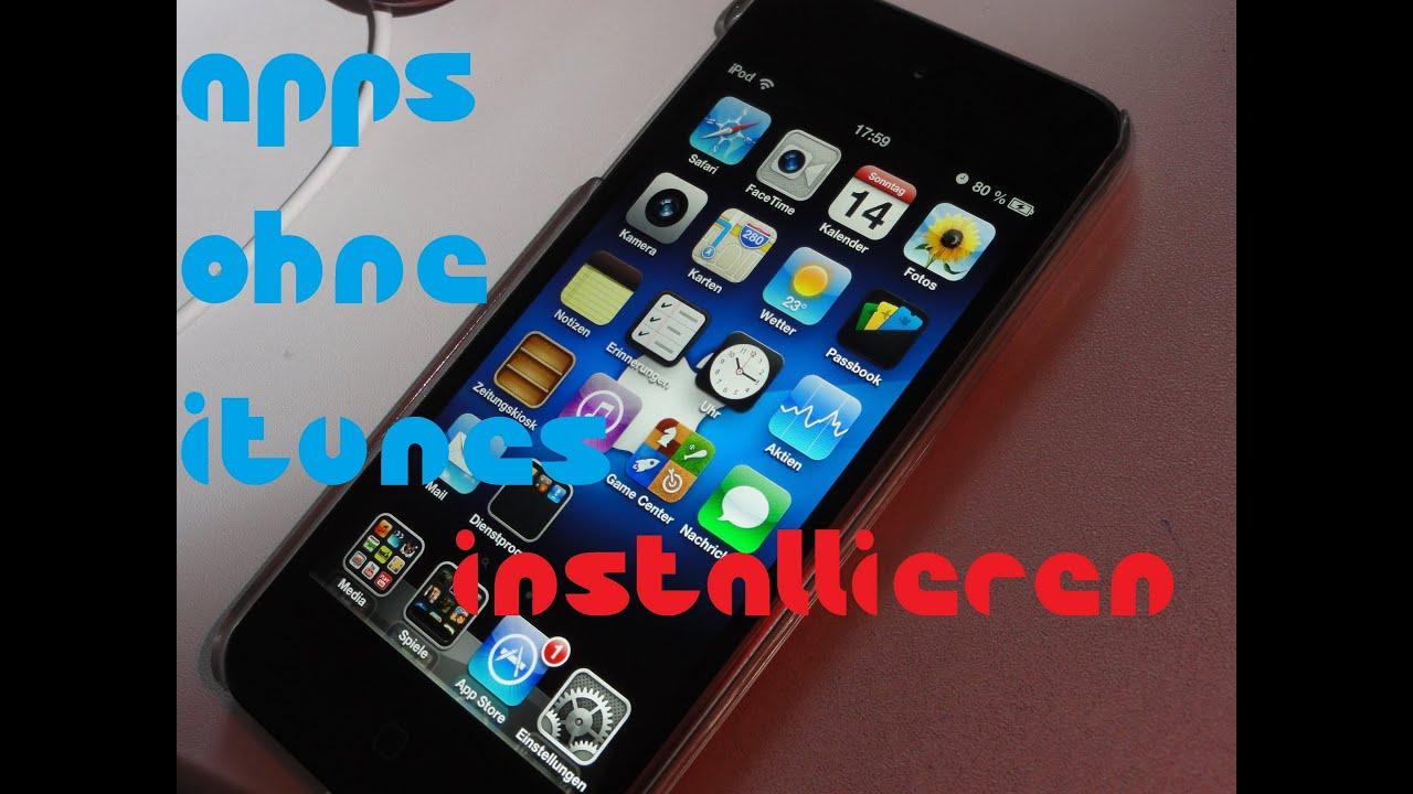 app auf ipad installieren
