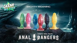 Mighty Moaning Anal Rangers - Geeky Sex Toys