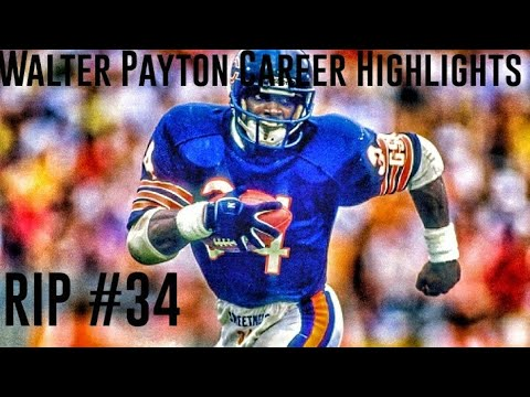 Walter Payton Career Highlights