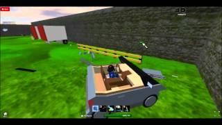 2013 KZ Lucid Highway Barrier Crash Test-ROBLOX