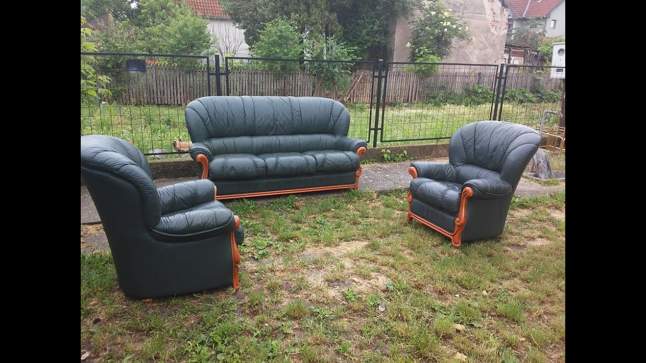 polovan namestaj mija sofa cream leather sectional for sale uvoz iz nemacke austrije i italije gebrauchte mobel used furniture