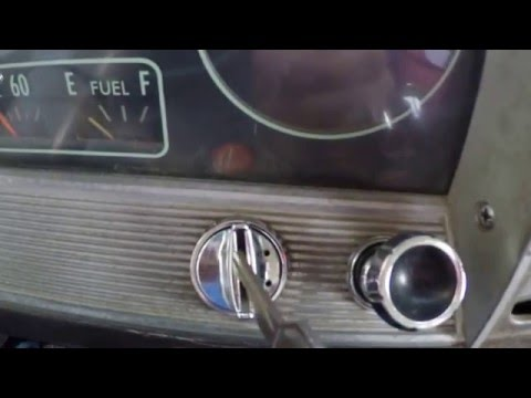 1966 Chevy C10 Ignition Switch Replacement