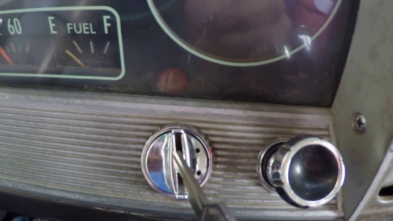 1966 Chevy C10 ignition switch replacement - YouTube