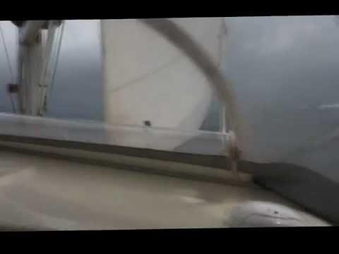 Maverick 400 - Yacht Catlyn sailing on a Broad Reach in the Caribbean