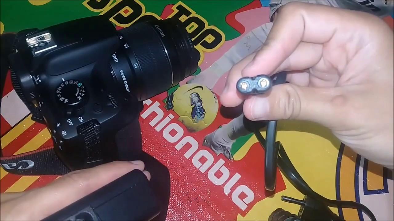 Cara Ngecas Kamera Canon 1300d Youtube