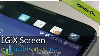 LG X Screen: First Test Results + Details | Hands-on Video