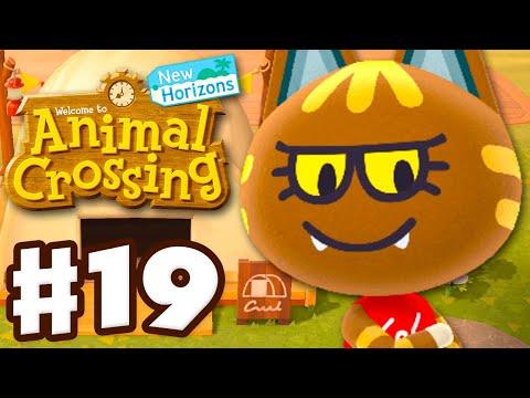 Katt Visits The Campsite! - Animal Crossing: New Horizons - Gameplay Walkthrough Part 19