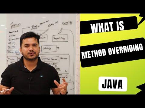 What Is Method Overriding In Java- Runtime Polymorphism In Java