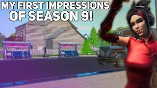 My First Impressions of Season 9 (Combat Shotgun, Battle Pass) (Fortnite Battle Royale)
