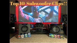 Best Subwoofer Movie Scenes *Extreme Bass Test*