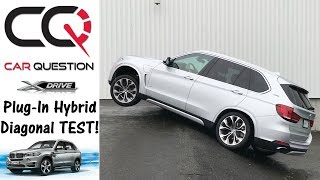 2018 BMW X5 xDrive40e | Diagonal Test | Can a PHEV climb that hill?