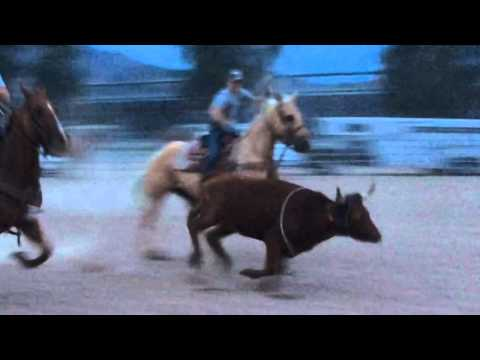 Team Roping Malfunction - Team Roping Fails