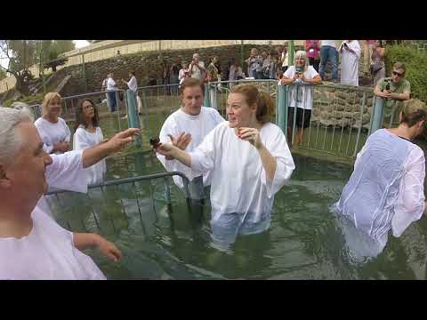 Jordan River Baptisms Part 1