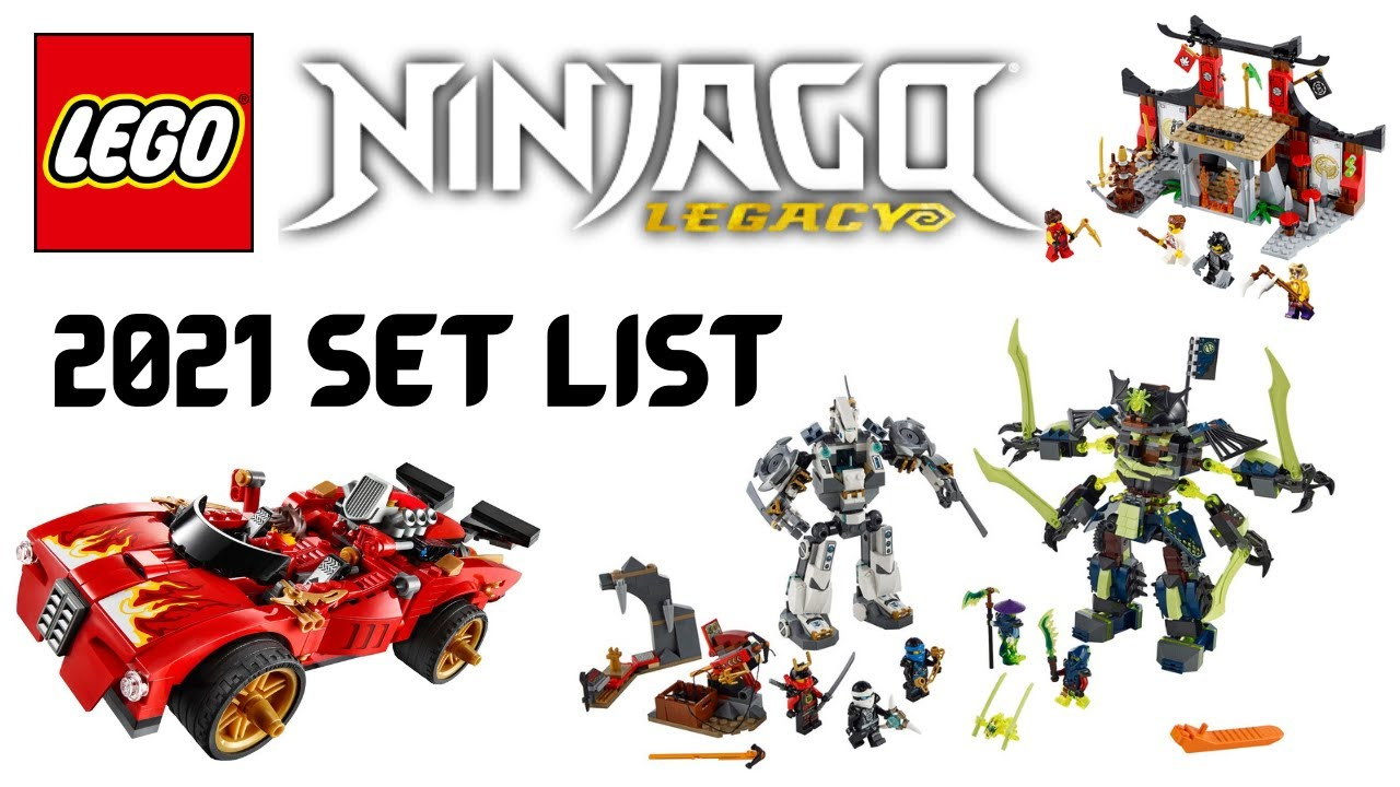 lego ninjago 2021 set list jungle theme and legacy mechs