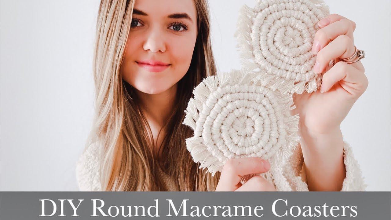Macrame Coaster Pattern