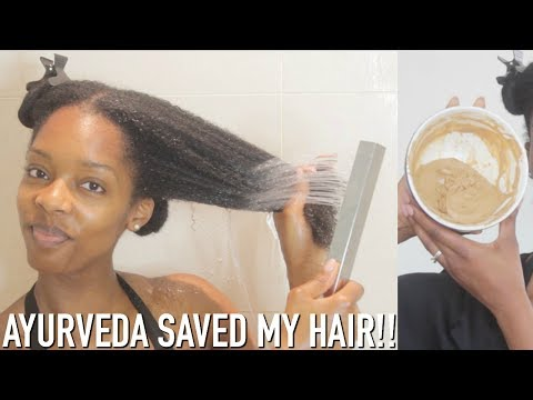 THE AYURVEDIC HAIR CARE REGIMEN THAT SAVED ME FROM HAIR LOSS