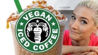 Vegan Frappuccino Starbucks Recipe | The Edgy Veg