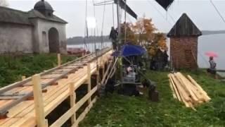 Съемки фильма Монах и бес