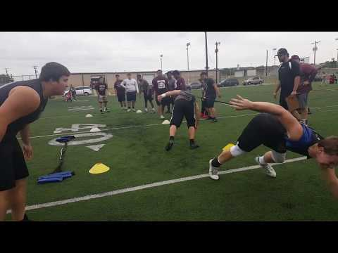Gatesville High School Linemen Challenge 2017