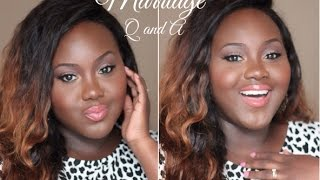 Marriage Q and A | How we met, Doubts about Marrying a man of God, How he proposed, My Inspirations