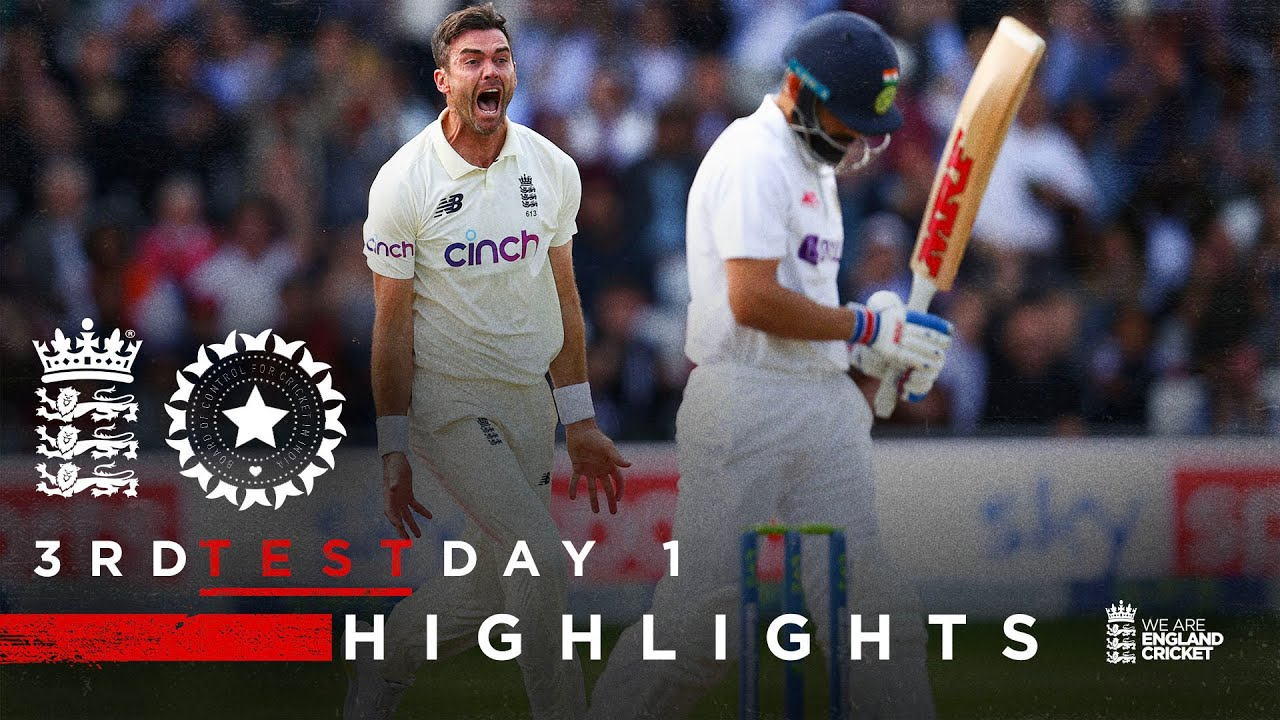 Download Dominant All-Round Performance!   England v India - Day 1 Highlights   3rd LV= Insurance Test 2021