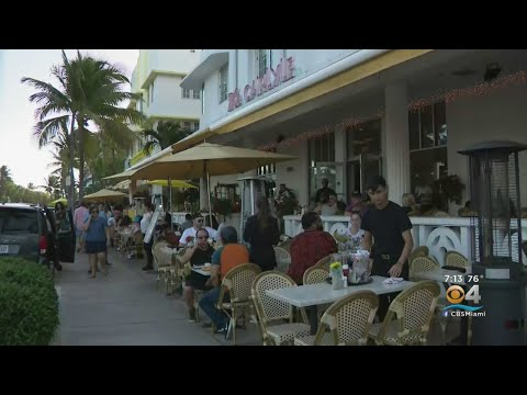 Miami Beach Restaurants To Close Over Violating New Conduct Policy