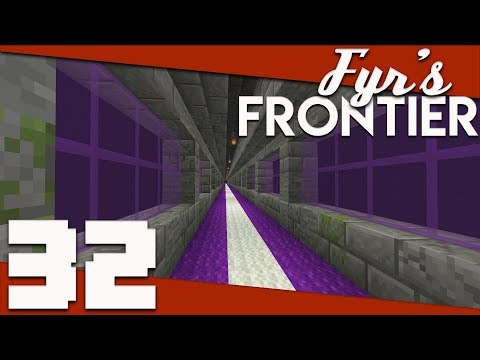 Minecraft: Fyr's Frontier - 032 - A Finished End Tunnel | Minecraft 1.14 Singleplayer Survival