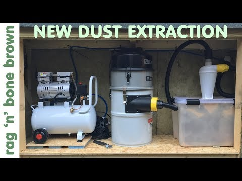 My New Dust Extraction System - Installation and Demonstration