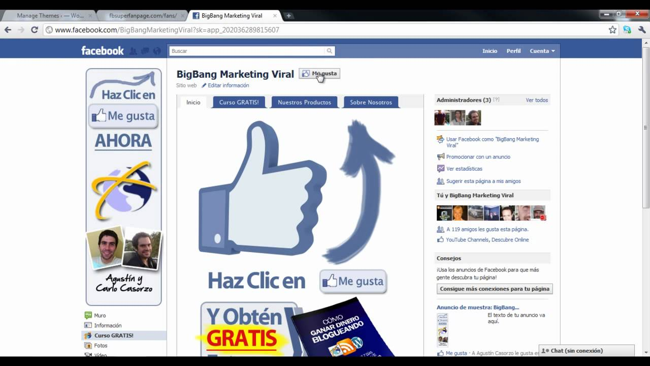 Facebook Super Fan Page 4 - Como Usar la Plantilla Revelar - YouTube