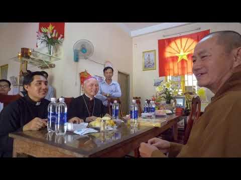 BCMT - Đức Giám Mục Giáo Phận Thăm Chùa Bửu Quang Trên Núi Chứa Chan