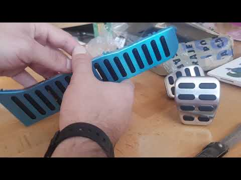 Golf 6 papucice/pedal unboxing