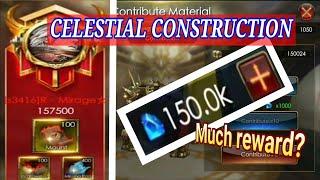 Spend 155K diamond || CELESTIAL CONSTRUCTION || LEGACY OF DISCORD