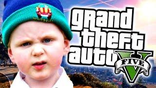 SQUEAKER THUG TROLLING ON GTA 5! (GRAND THEFT AUTO 5 LITTLE KID VOICE TROLLING)