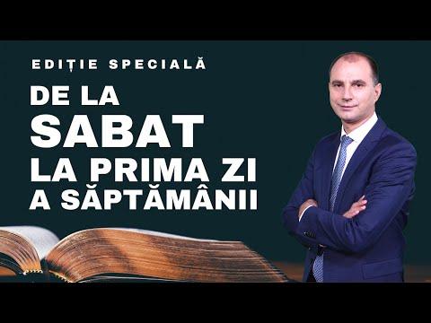 EDIȚIA SPECIALĂ- 13.02.2020- De La Sabat, La Prima Zi A Săptămânii
