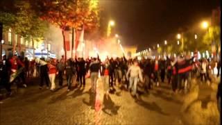 PSG champion (2014) : incidents sur les Champs-Elysées