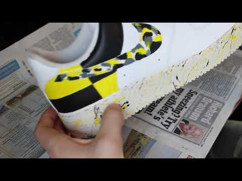 A Ap Rocky Testing Inspired Custom Nike Airforce Ones Youtube