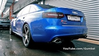 750HP Audi RS6 EvoTech Motorsport!! LOUD SOUNDS!!