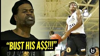 """BUST HIS A$$!!!"" EVERYONE Was Going at Each Other!! Iverson Classic Scrimmage GOT WILD!!"