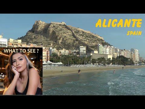 WHAT TO SEE in Alicante, Spain. Historic Mediterranean port.