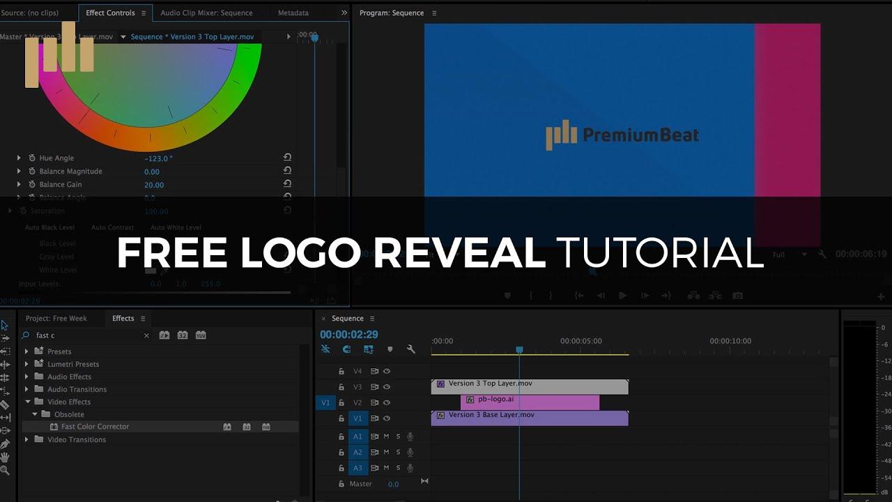 3 FREE Animated Logo Reveals