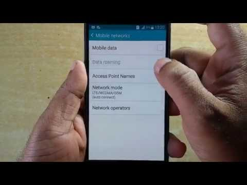 Samsung Galaxy2G 3G 4G LTE Network Settings for all sim cards | Network Mode Settings | VoLTE
