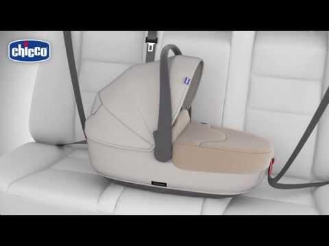 Nacelle XL lit auto groupe 0 TRIO LOVE de CHICCO