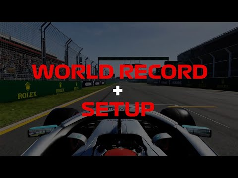 F1 2019: WORLD RECORD + SETUP #1 Melbourne